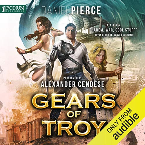 Gears of Troy audiobook cover art