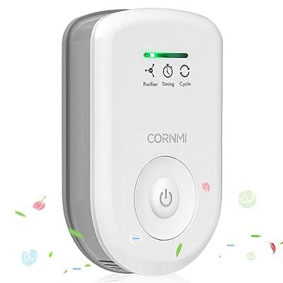 Cornmi Air Purifiers Plug In for Home, Mini Odor Eliminator