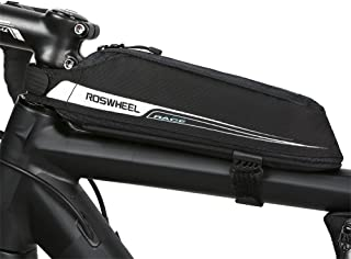 Roswheel Portable Top Tube Bag Bicycle Front Beam Storage Pouch Road Bike Stem Mount Pannier