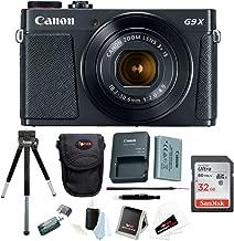 Canon Powershot G9 X Mark II Digital Camera with 32GB Card and Bundle