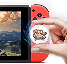 VANGA Botw NFC Game Cards for The Legend of Zelda: Breath of the Wild Compatible with Nintendo Switch/Wii U/New 3DS - 23pcs Mini Round Card with Plastic Box