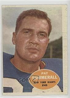 Pat Summerall (Football Card) 1960 Topps - [Base] #77