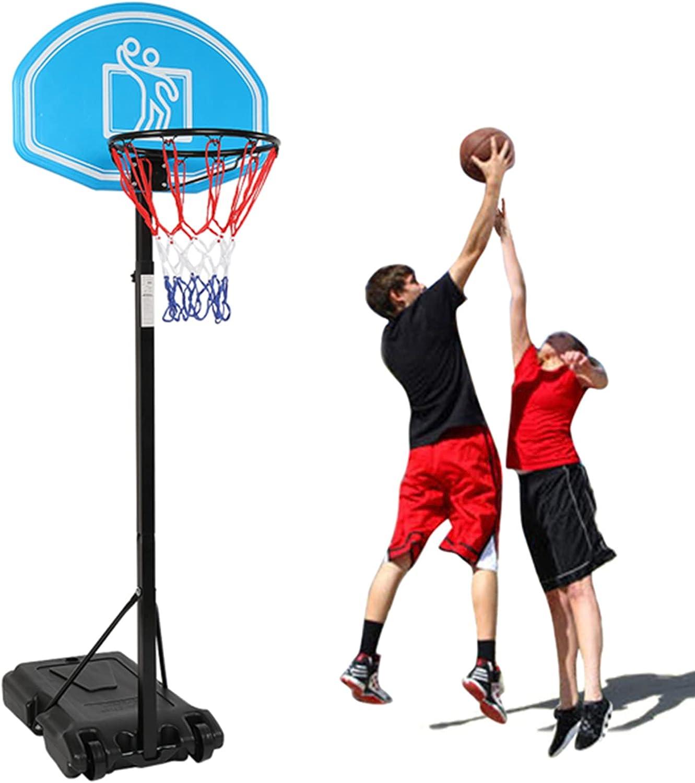 ANHH Store Kids Height-Adjustable Basketball Hoop Cash special price Portable Kid Teenag