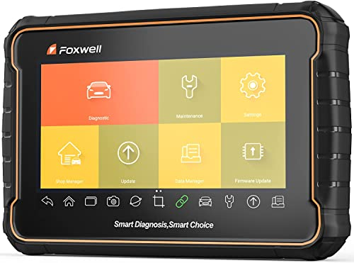 """lowest FOXWELL online GT60 OBD2 Car wholesale Diagnostic Scanner, Full System Diagnosis Scan Tools with 24 MaintenanceFunctions, ABS Bleeding/EPB/SRS/SAS/DPF/TPMS/Oil Reset/Battery Reset/AutoVIN/HVAC, Android 7"""" Tablet online sale"""