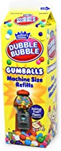 Dubble Bubble Gumball Machine Refill Carton, 20-Ounce Assorted Gumballs