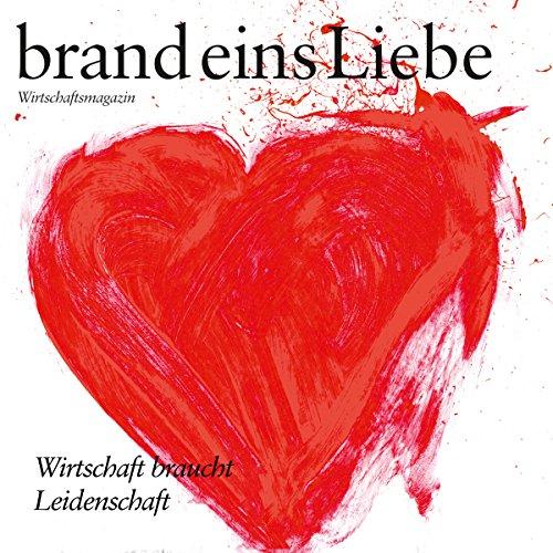 brand eins audio: Liebe audiobook cover art
