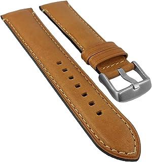Eulit Ersatzband Uhrenarmband Leder Band Dolly Weiß 22685G