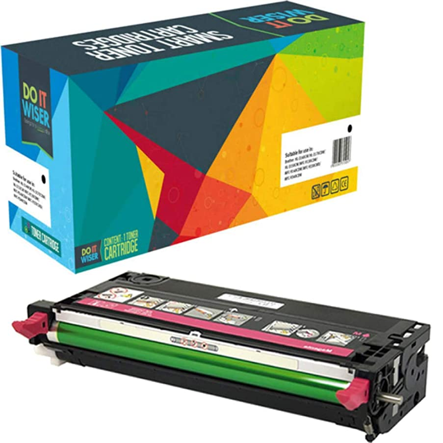 Do it Wiser Compatible Toner for Dell 3110cn 3115cn 3110 3115 | 310-8096 - High Yield 8,000 Pages (Magenta)