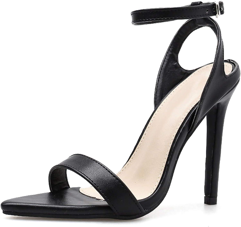 Leopard Print Shallow Women shoes High Heels Woman Sandals Buckle Strap Dress Pumps Sandals