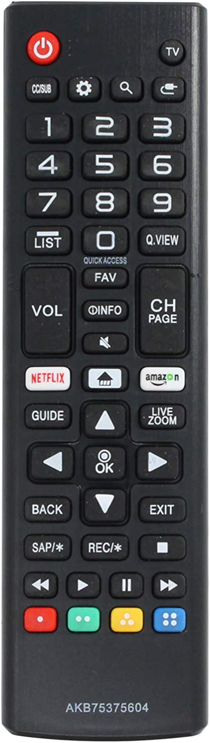 AKB75375604 Remote Control Replacement - Las Vegas Super-cheap Mall LG Compatible 55UJ with