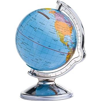 Hucha en forma de bola del mundo (giratoria, caja registradora de viaje de Sinsey: Amazon.es: Hogar