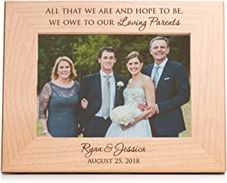 Best personalized picture frames for parents of the bride Reviews