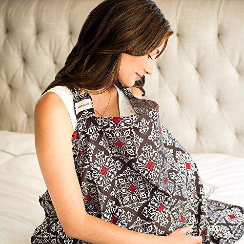 Couverture d'allaitement Amalfi par Bebe Au Lait