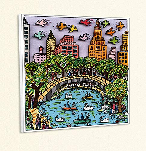 Kunstdruck A Central Park for Lovers New York Popart Poster Rizzi Platte 31