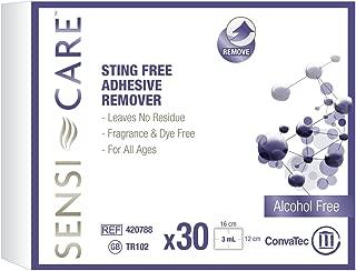 SENSI-CARE Sensi-care sting-free adhesive remover wipe (30 per pack), 30 Count
