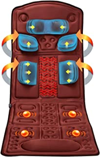 QHWJ Colchón de Masaje de Cuerpo Completo, calefacción eléctrica Amasado Masaje de la vibración de Cama, Ancianos