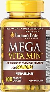 メガビタミン--シニア用100錠 MEGA-VITAMIN SENIORS100CoatedCaplets