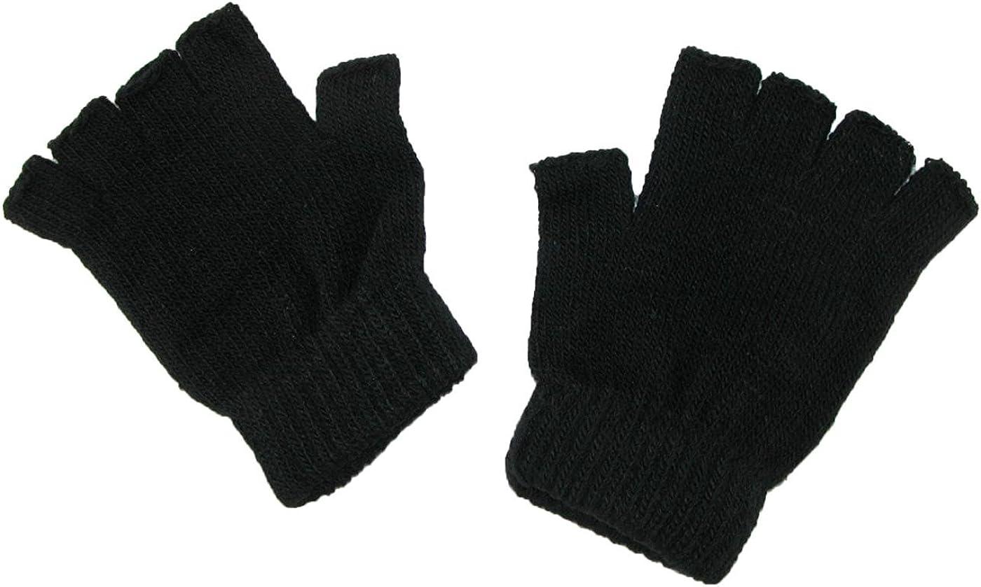 OPT Brand. 12 Pairs Ski Half Finger Fingerless Knit Sports Gloves. USA Trademark Registered Code: 86522969.