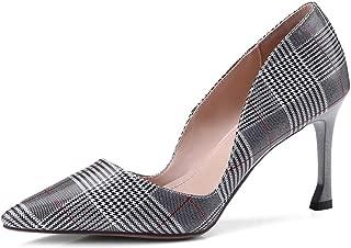 Nine Seven Women's Leather Pointtoe Stiellto Heel