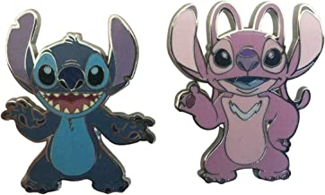 2018 Disney Stitch and Angel Pins