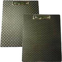 """標準サイズプラスチッククリップボード、ダイヤモンド&六角デザイン印刷 12.5"""" x 10"""""""