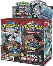 Pokemon TCG: Sun & Moon Crimson Invasion Sealed Booster Box