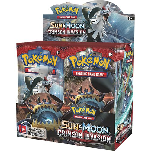 Pokemon TCG: Sun & Moon Crimson Invasion Sealed Booster Box