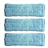 DUVERRA Microfiber Magic Self Cleaning Flat Mop Refill - Pack of 3