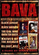 The Mario Bava Collection - Volume 1: (Black Sunday / Black Sabbath / The Girl Who Knew Too Much / Kill Baby Kill / Knives of the Avenger)