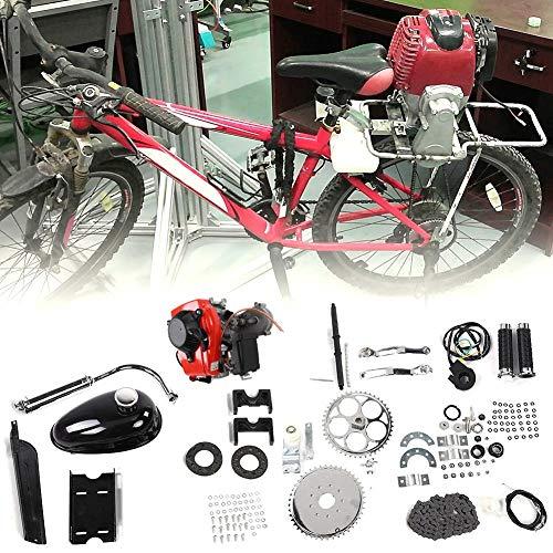 Zouminyy Kit De Motor De Motor De Bicicleta De Bicicleta Motorizada, Kit de motor de motor de gas de gasolina de 4 tiempos para modificación de bicicleta motorizada