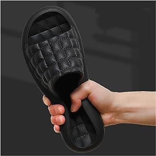 YAOLUU Summer Slippers Zapatillas de Verano para Hombres Indoor Hogar Suave Pareja Baño Baño Bañándose Sandalias de Hogar ...