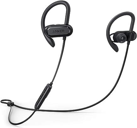 Anker Wireless Headphones, Soundcore Spirit X Bluetooth Sports Headphones w/Mic, Bluetooth 5.0, 12-Hour Battery, Noise Isolation, IPX7 Wireless Earbuds, SweatGuard Technology for Gym Running Workout