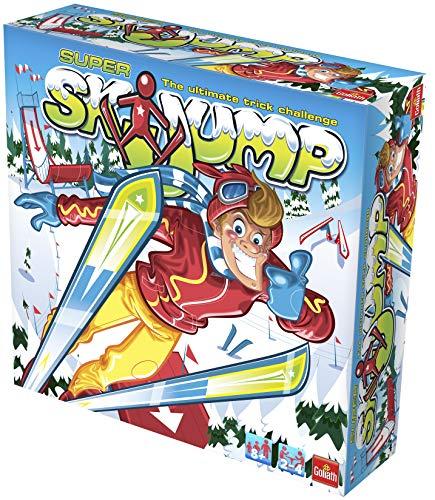 Goliath 70005 Ski Jump Game Können Sie die rutschigen Pisten des Super Skisprungs meistern, verschieden, Einheitsgröße