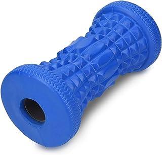 Navaris Masajeador de pies para fascitis plantar - Automasaje para músculos doloridos liberación de puntos gatillo - Rodillo de espuma para masajes