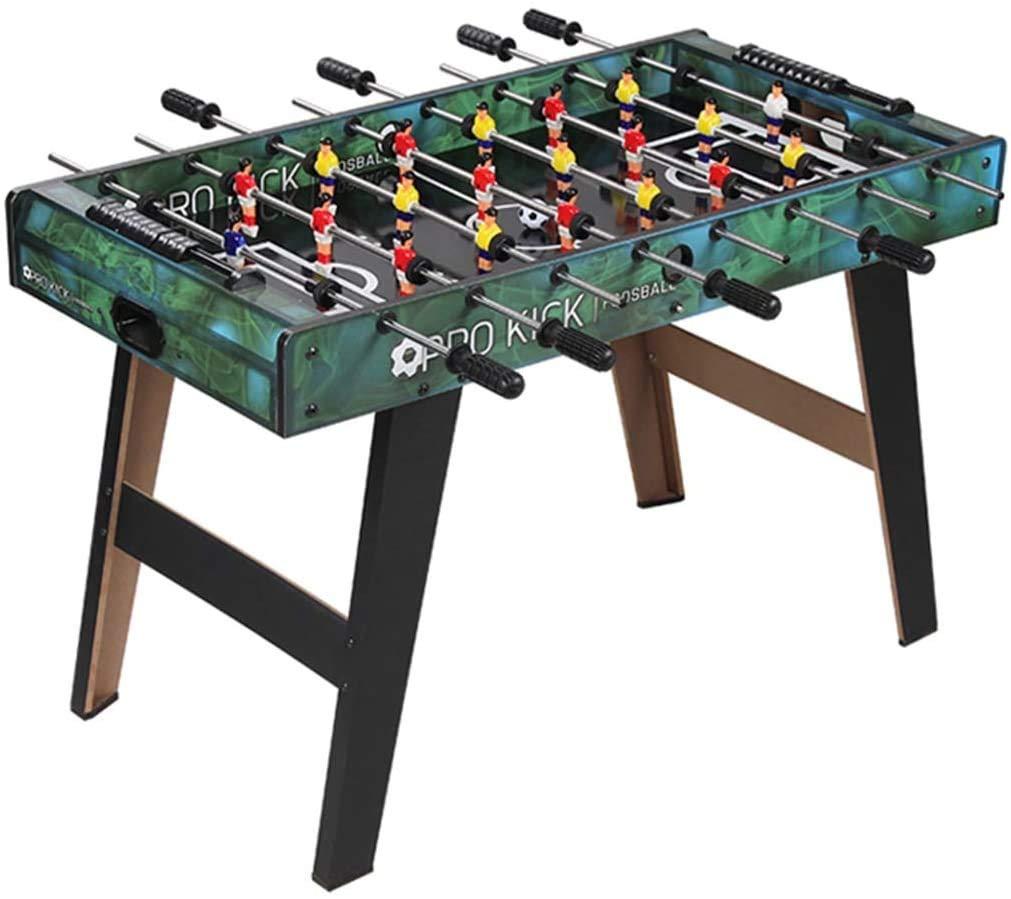 ZOUJUN Inicio de Mesa Mesa de futbolín Juego de fútbol for niños Compacto y portátil Mini