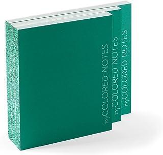 Idea regalo: Blocchi Notes Kit di 3 blocchi quaderni - MY COLORED NOTES VERDE