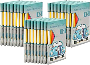 Madisi Colored Pencils Bulk - Pre-Sharpened - 24 Packs of 12-Count - 288 Colored Pencils for Kids