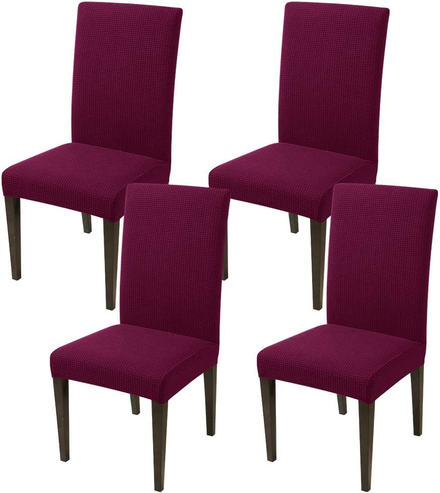 JQinHome Superlatite 4 Pcs Knitted Dining Slipcover Chair Parsons online shop Cove