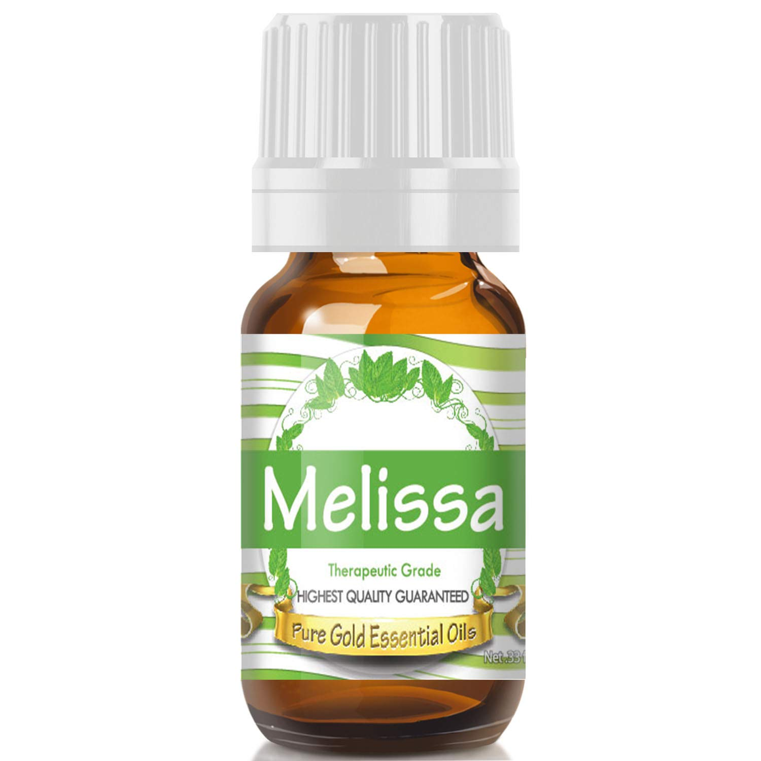 Bargain Purchase sale Pure Gold Melissa Essential Oil 10ml 100% Natural Undiluted