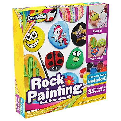 Rock Painting Outdoor Activity Kit for Kids