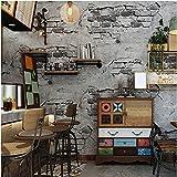 Yosot 3D Rétro Mur Brique Ciment Étanche Effet Papier Peint Chambre Salon...