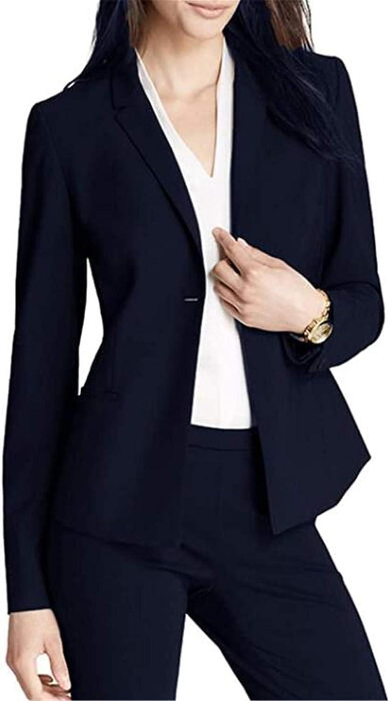 2 Pcs Women Suits Set Blazer Ladies Office Business Suits Wedding Tuxedos Party Wear Suits
