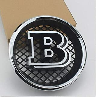 FOR Brabus Grille B Badge Emblem Decals For Mercedes Benz W463 G63 G65 G500 G550 AMG