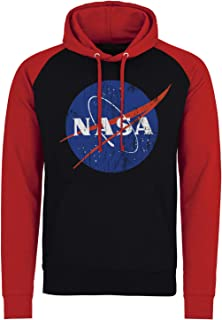NASA Officially Licensed Washed Insignia Baseball Hoodie