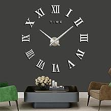 AUTOLOVER Reloj de Pared DIY, Pegatinas de Espejo 3D Reloj