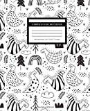 Composition Notebook , Wide Ruled Pages, Size 7.5x9.25 inches, 110 Pages: Cool Dinosaur Wide Ruled Paper / Notebook Journal / Pretty Wide Blank Lined ... for Home School College for Writing Notes
