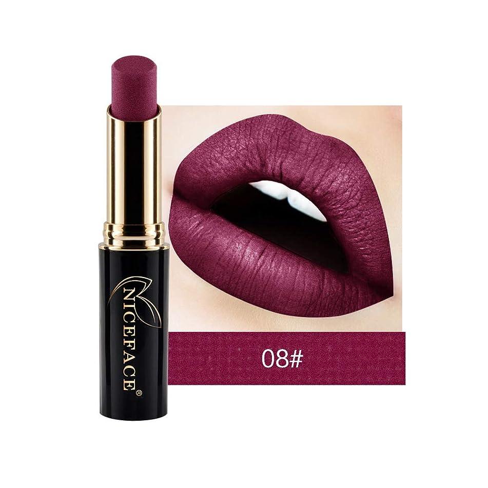 24 Color Matte Lipstick Long Lasting Waterproof Makeup Women Red Lip Matt Lip Stick Nude Make Up Mate Lipsticks Baton 08