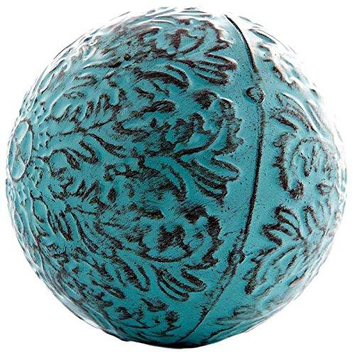 Decorativo azul Metal esfera