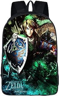 The Legend of Zelda Juego Imagen Estudiante Mochila de la Escuela Bolsas Escolar Bolsa de Ocio Viaje Backpack /12