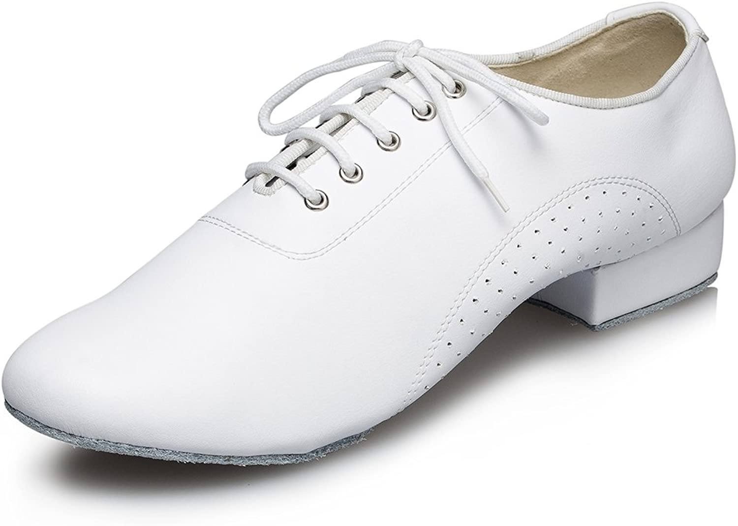 Miyoopark Men's Simple Hot Leather Lace up Dance shoes Wedding shoes